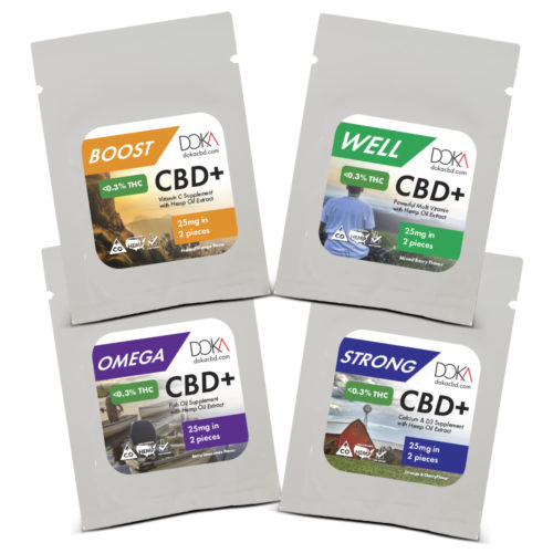 CBD Gummy Sample Pack
