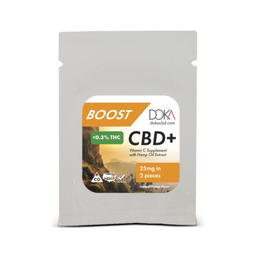 Boost CBD Vitamin C Gummy Sample Full Spectrum