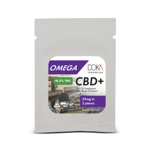 Omega Fish Oil CBD Gummy Sample Full Spectrum