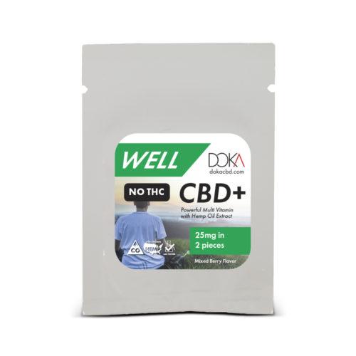 Doka Well Gummy Isolate Sample